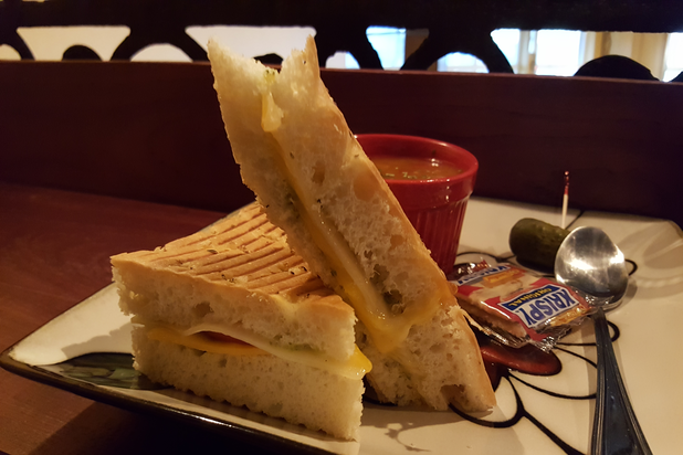 Seasoned Grilled Cheese Panini